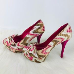 Just Fab Shoes - Just Fab Womens Pink Shoes Heels 725-S